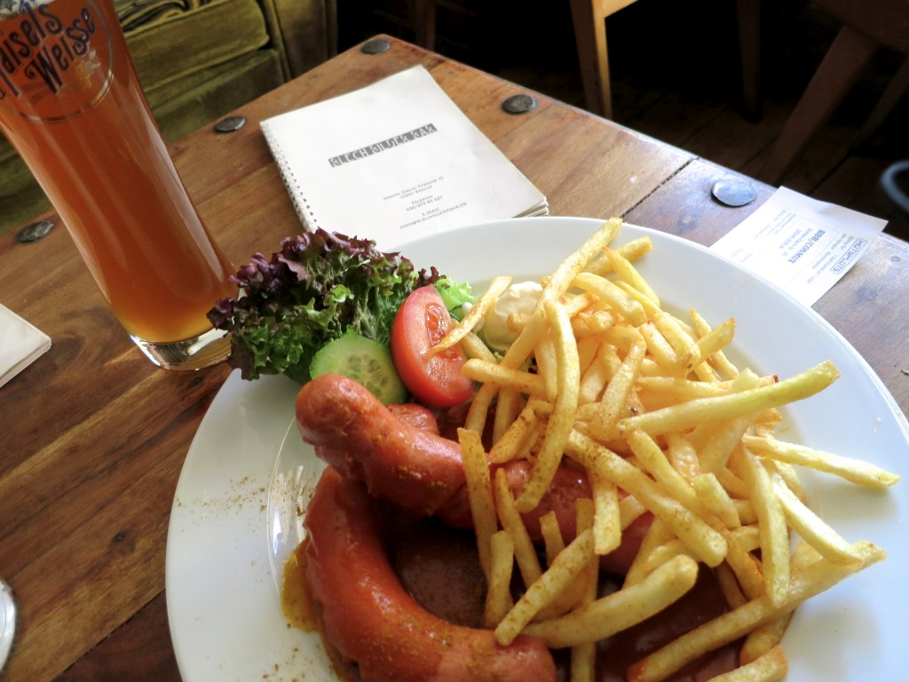 Currywurst in Berlin Germany
