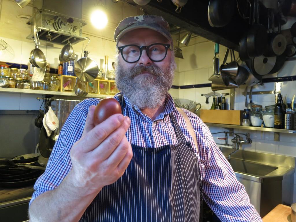 Paolo Parisi egg master