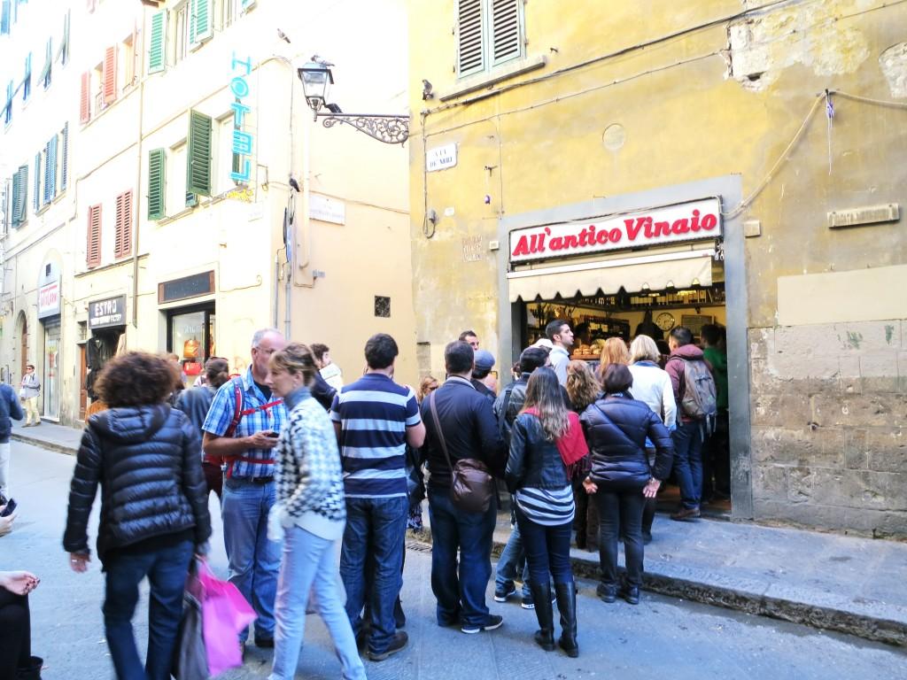 Best restaurant in florence all antico vinaio sandwich