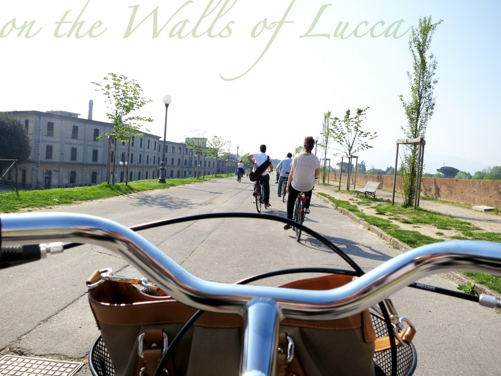 Biking the walls of Lucca