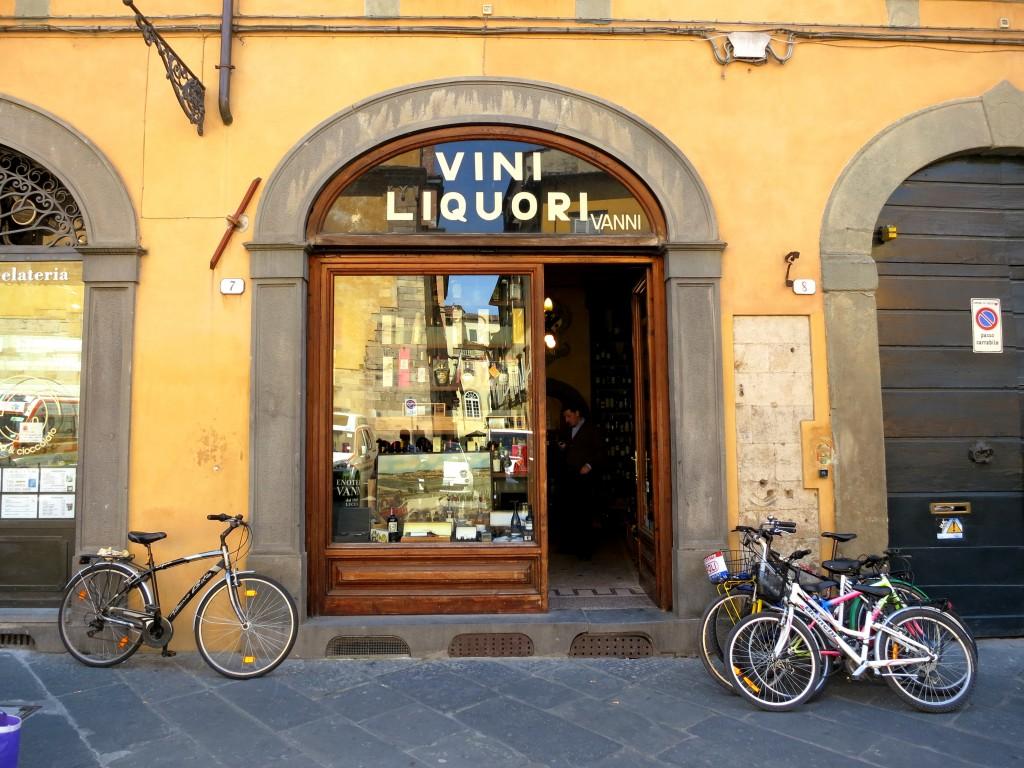 Vanni enoteca in Lucca