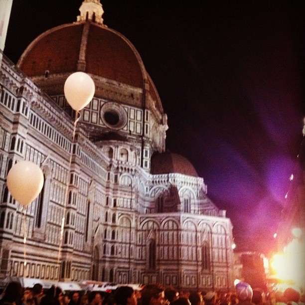 Notte Bianca Florence Piazza del Duomo