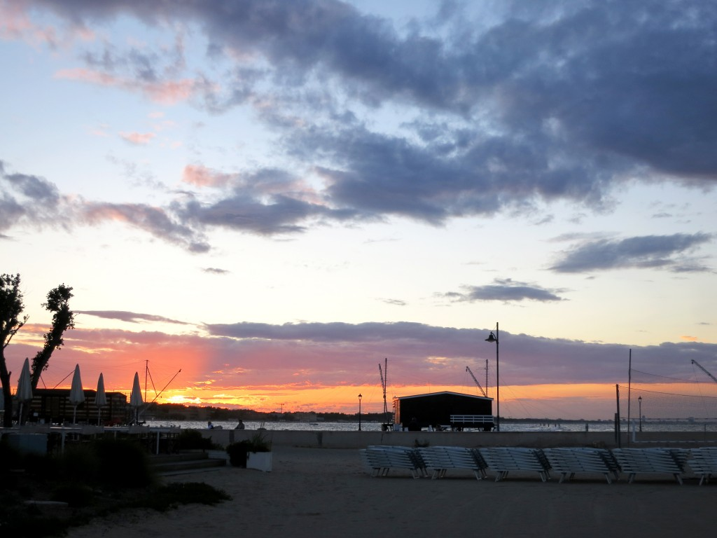 Cesenatico sunset