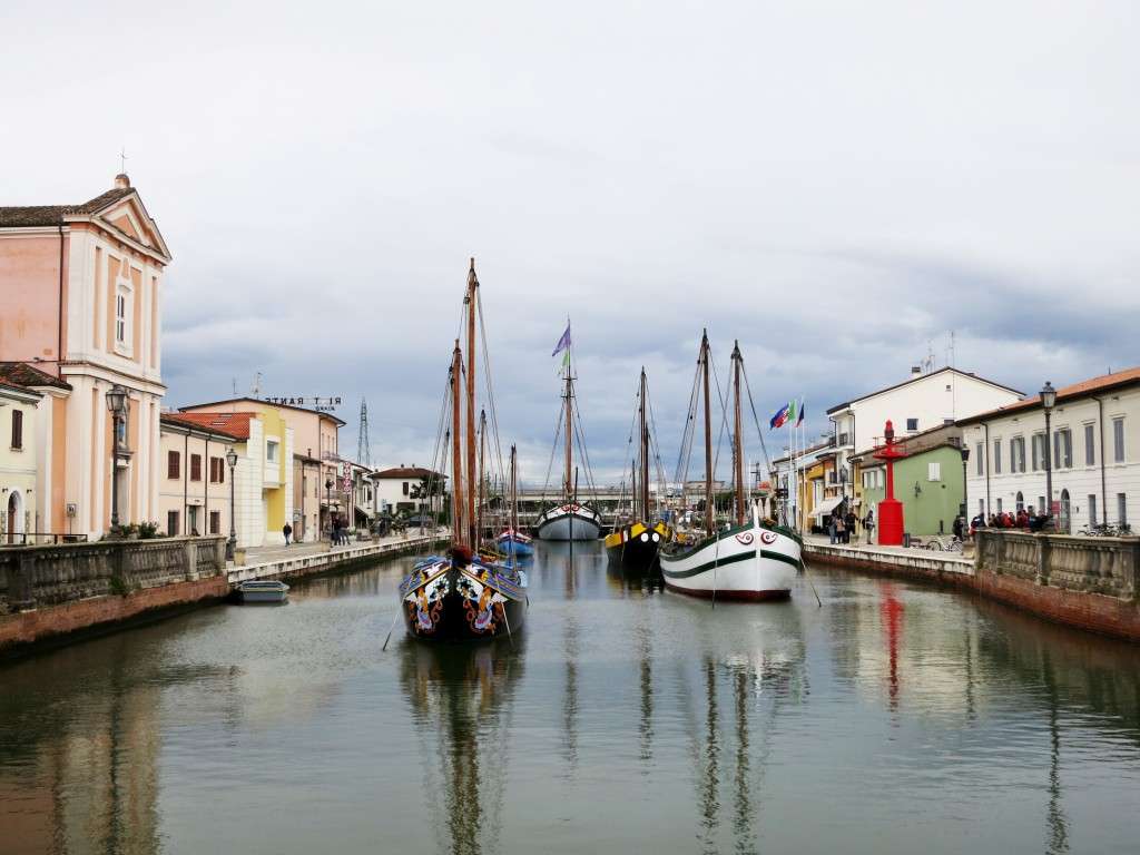 Cesenatico in the rain