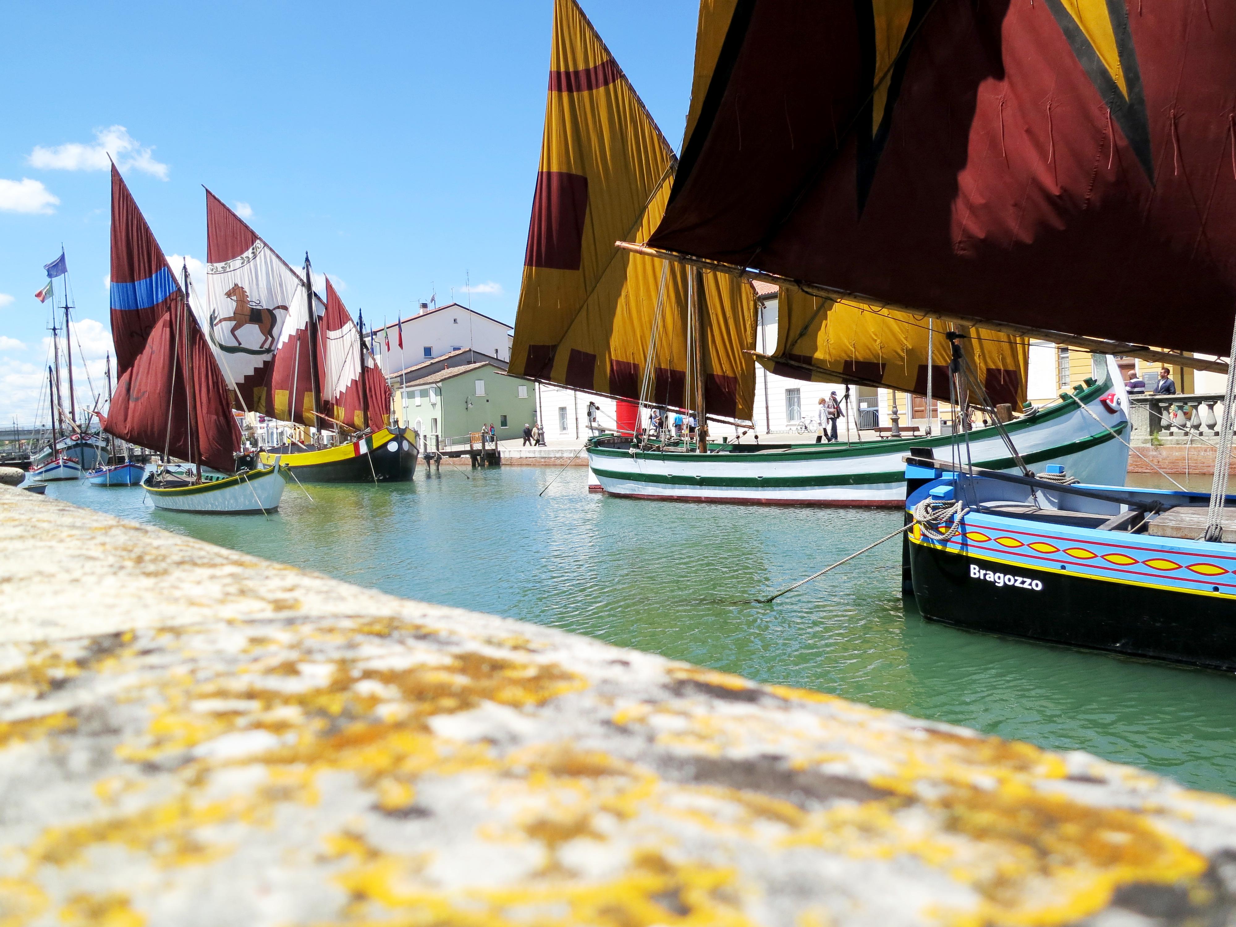 Cesenatico Boats