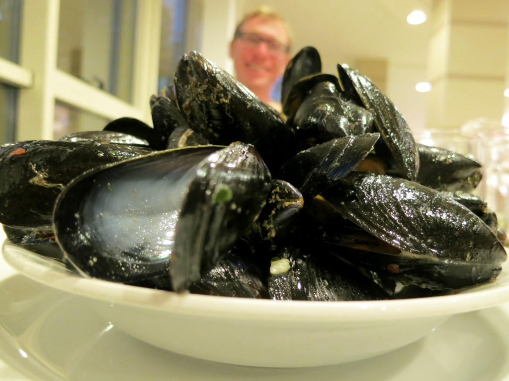 Mussels with Adam