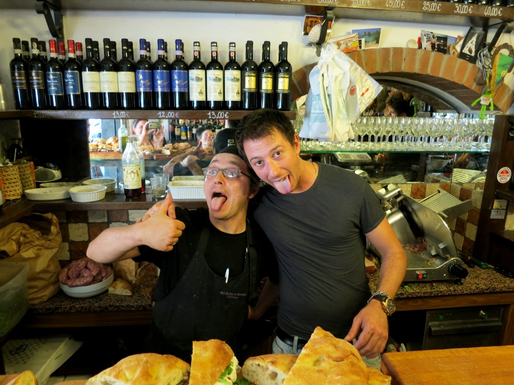 All'Antico Vinaio in Florence