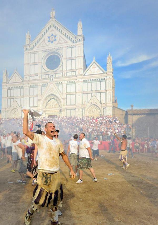 Calcio Storico in Piazza Santa Croce