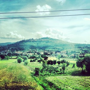 Train through Chianti