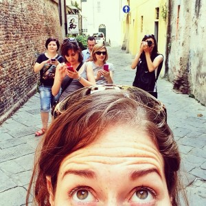 Touring Pisa with Instagramers Italia