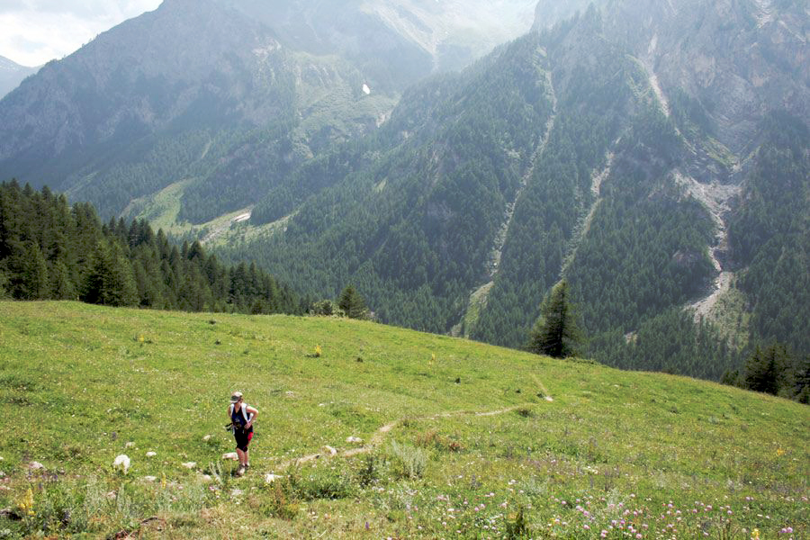 hiking the Italian Alps