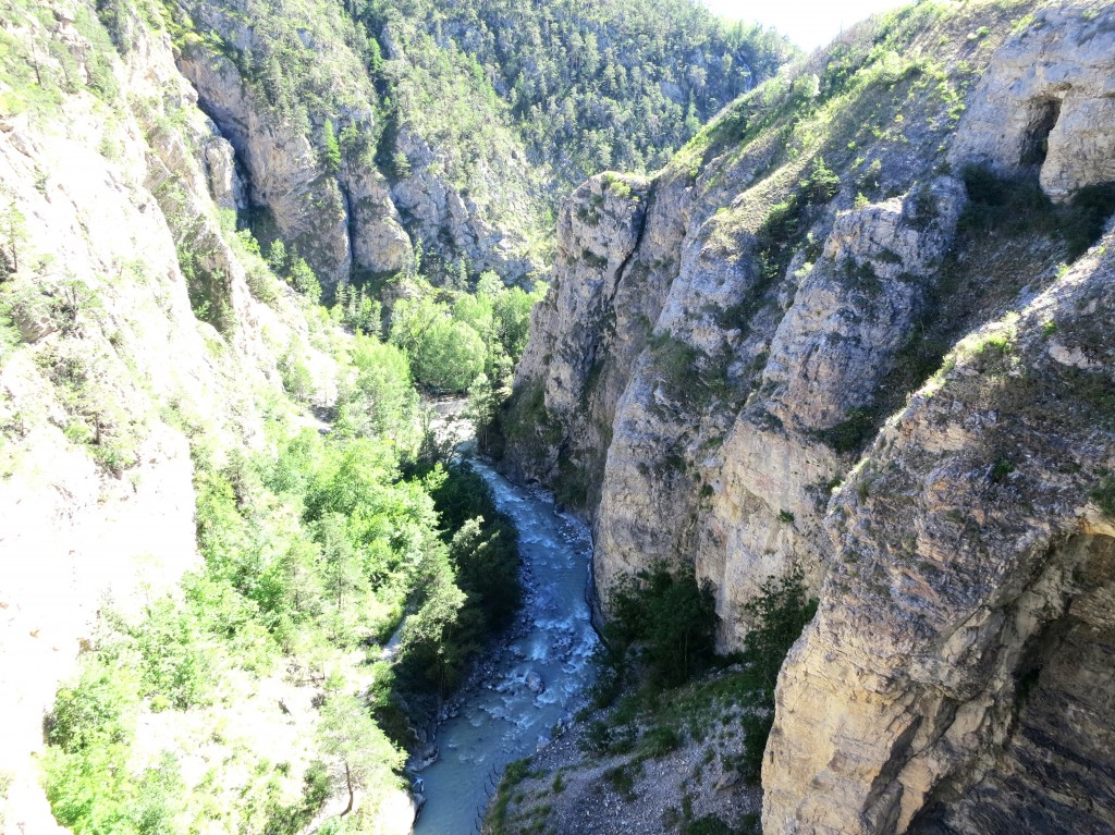 Now, into the Durance River