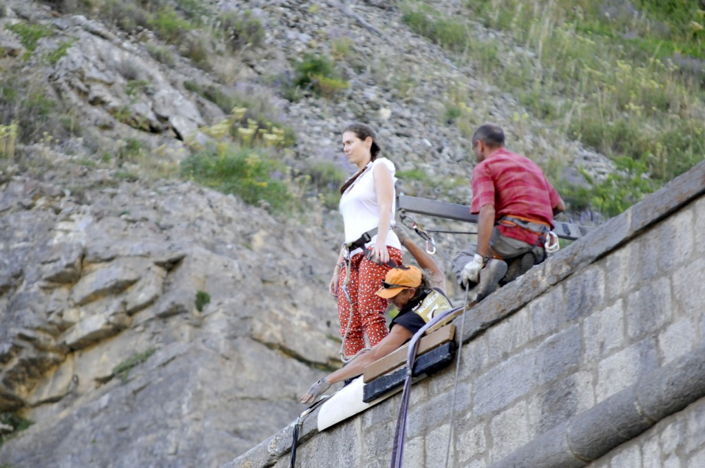 Bungee jumping in Briançon