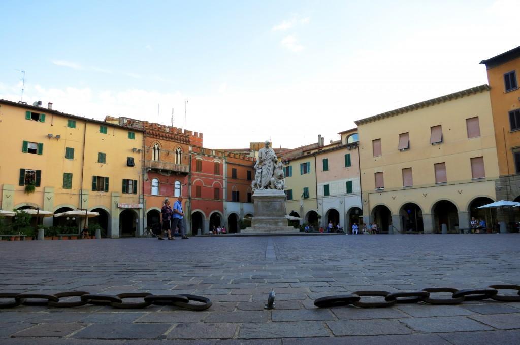 Piazza Alighieri in Grosseto