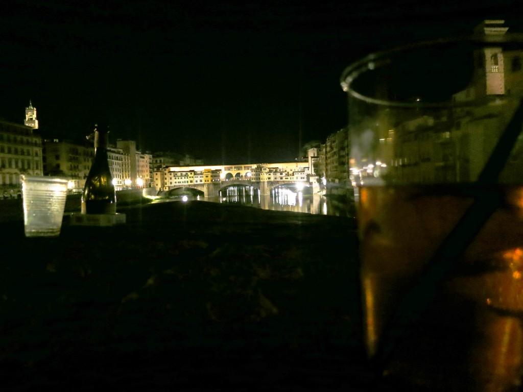 Ponte Vecchio and a Spritz Aperol