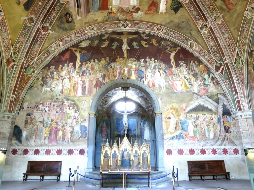 Tour Florence—Santa Maria Novella, The Spanish Chapel