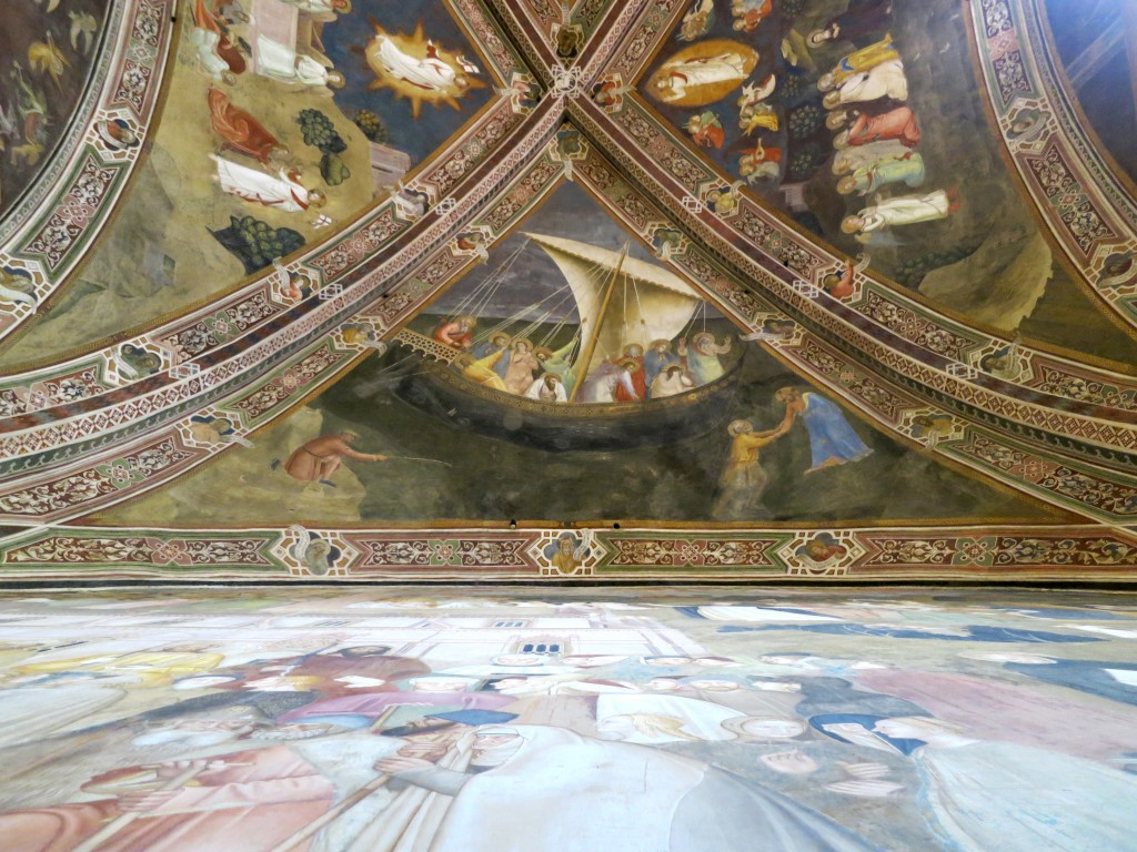 Tour Florence—Santa Maria Novella, The Spanish Chapel frescoes