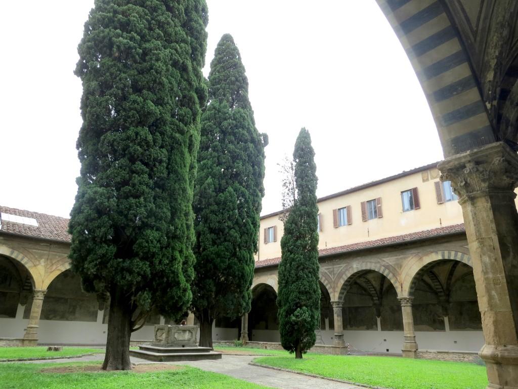 Tour Florence—Santa Maria Novella's cloisters