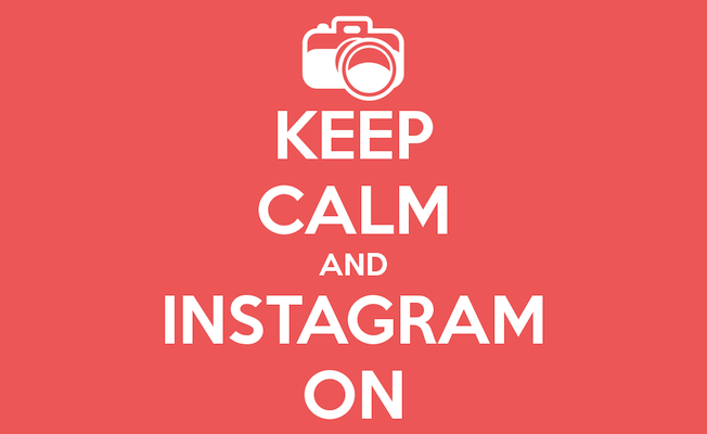 Keep calm and track Instagram