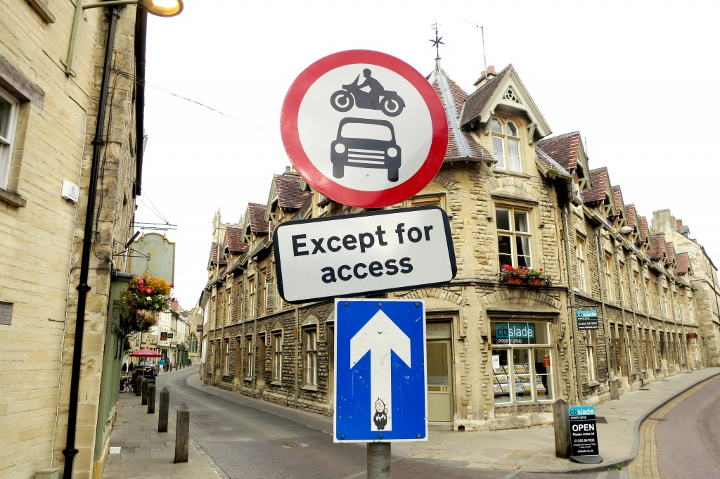 Cirencester Streets in the Cotswolds