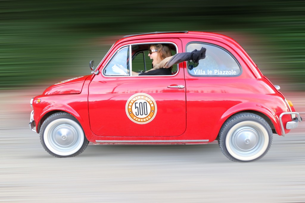 Fiat tour in Florence