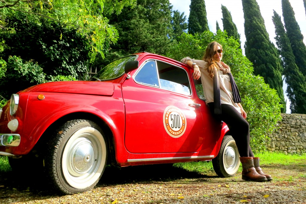 Fiat tour Florence with Paola