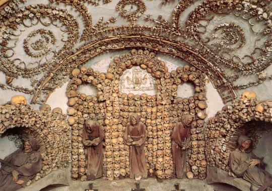 Capuchin crypt in Rome