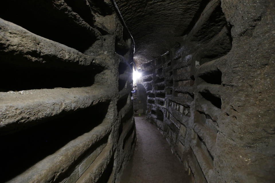 Catacombs in Rome