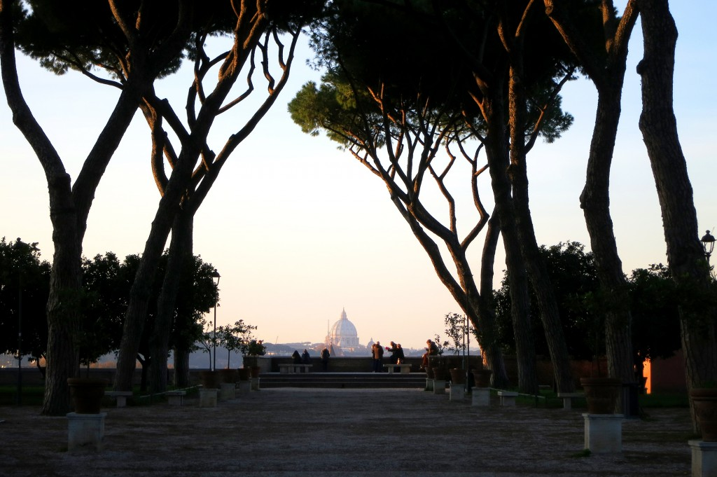 Garden of the Oranges in Rome