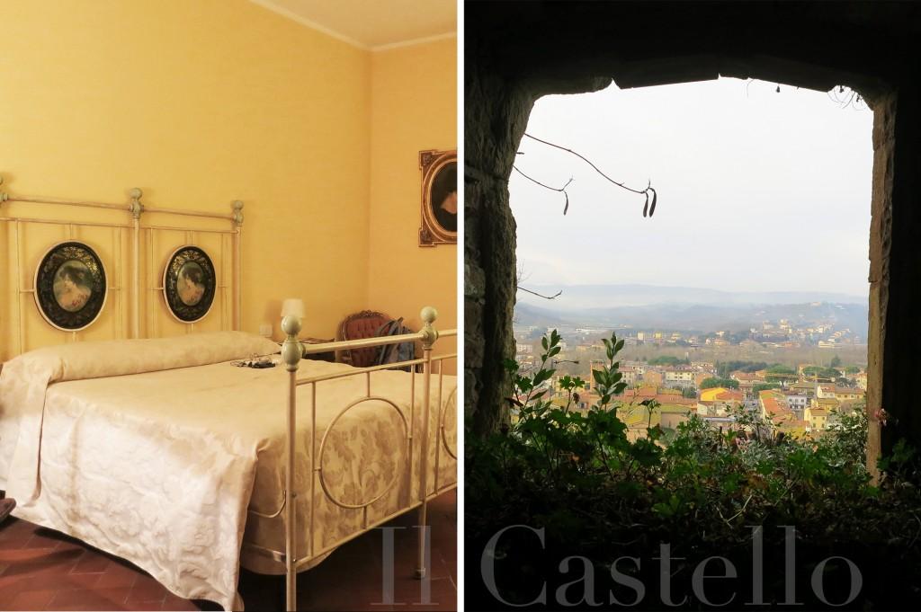 Il Castello hotel in Certaldo Alto, Tuscany