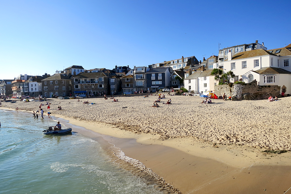 Beach at St. Ives Cornwall