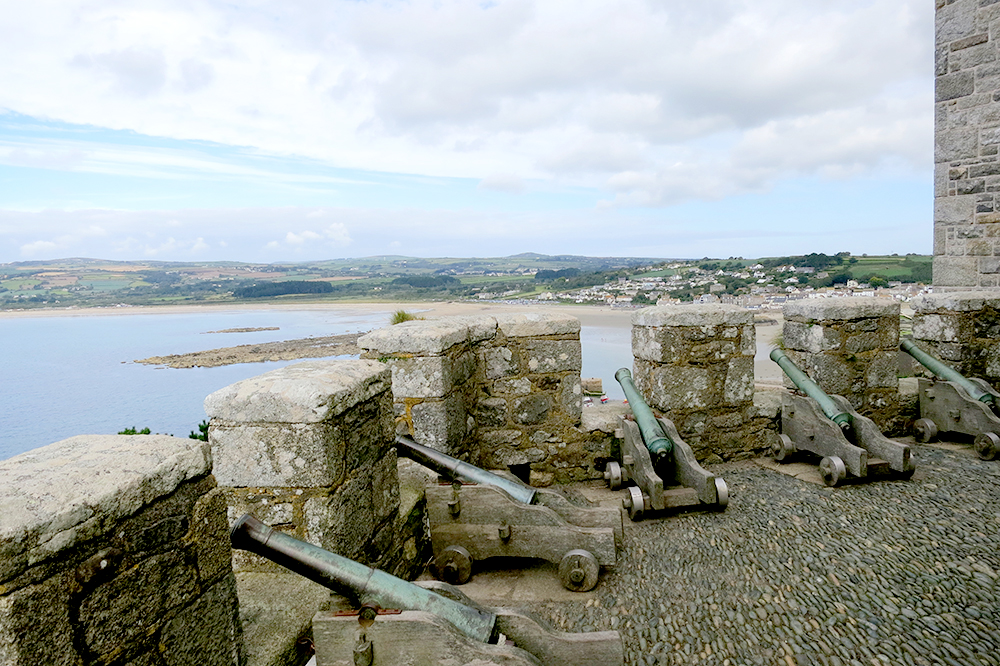Canons at St. Michael's Mount