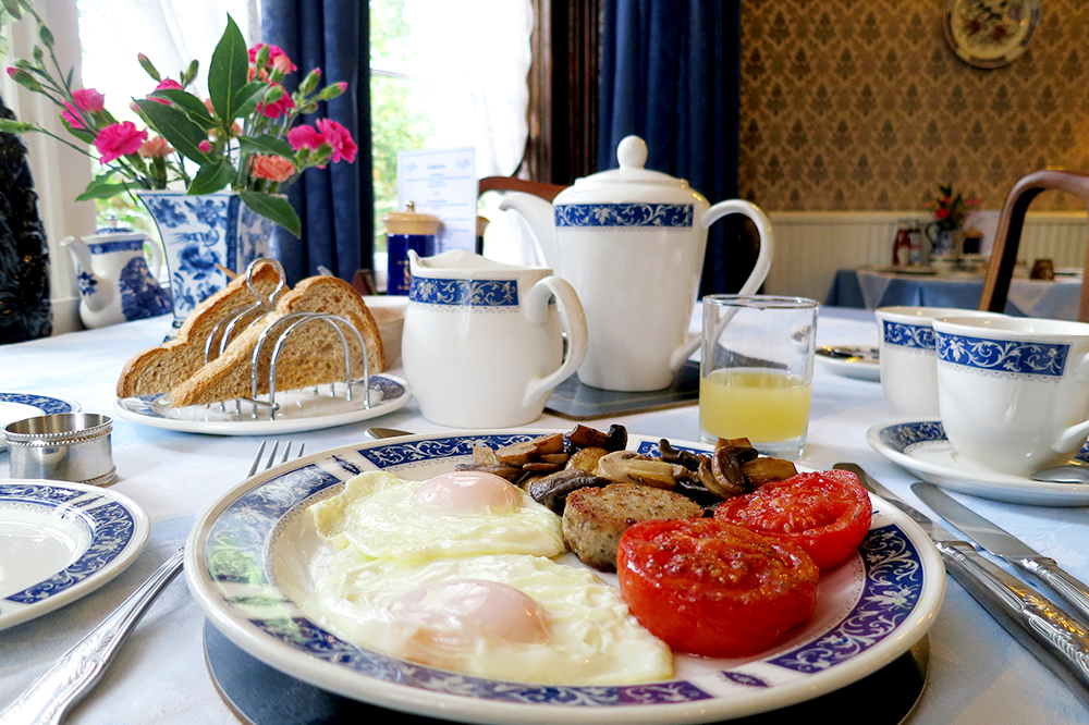 English Breakfast at St. Ives, The Old Vicarage