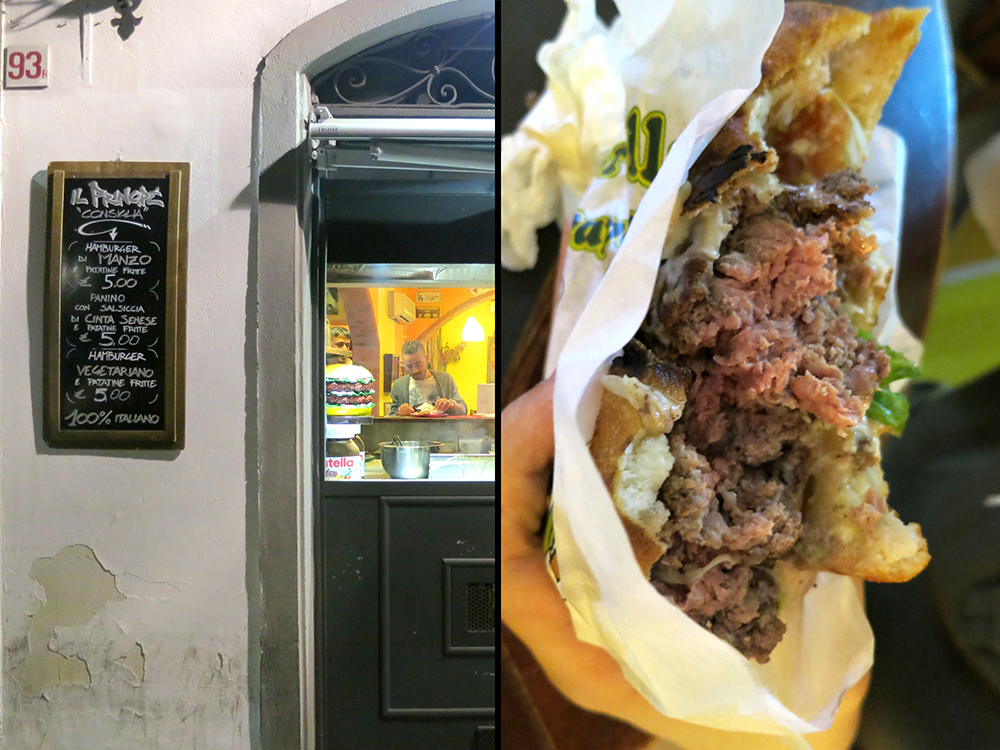 Il Principe, Best Burger in Florence