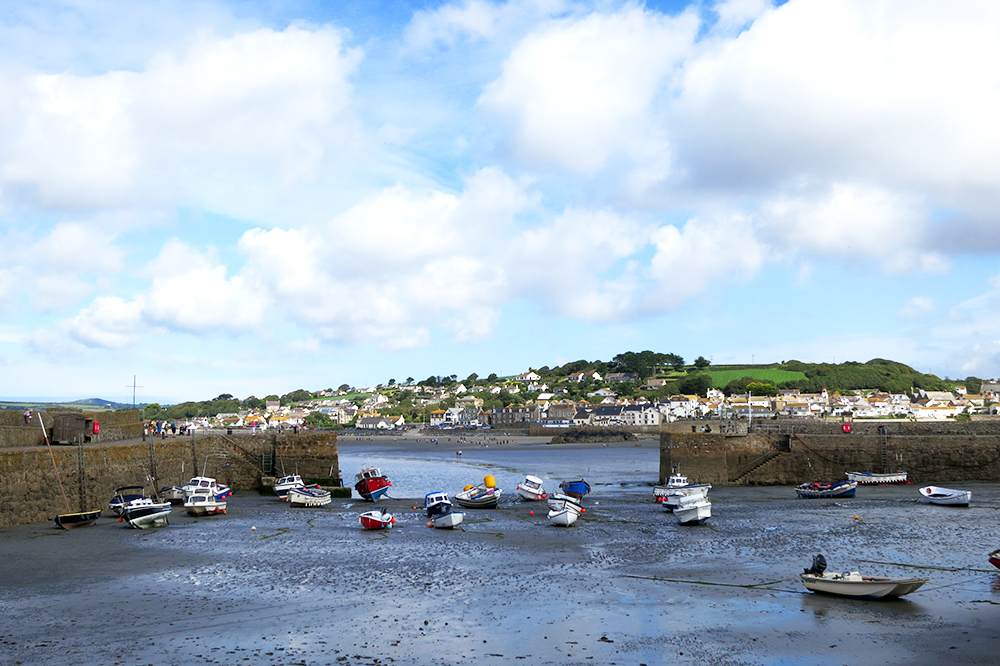 Low tide at St. Michael's Mount