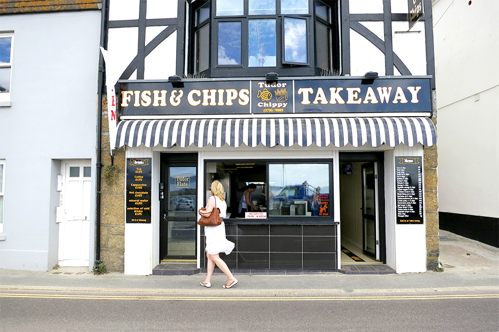 Tudor Chippy, Fish and Chips in Penzance