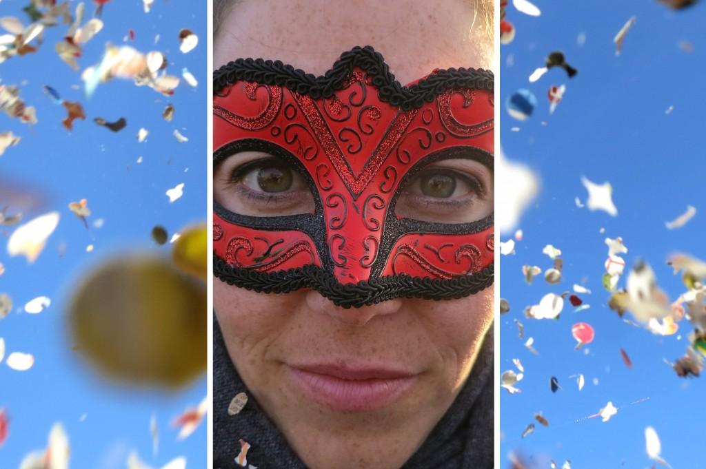 Confetti in Viareggio