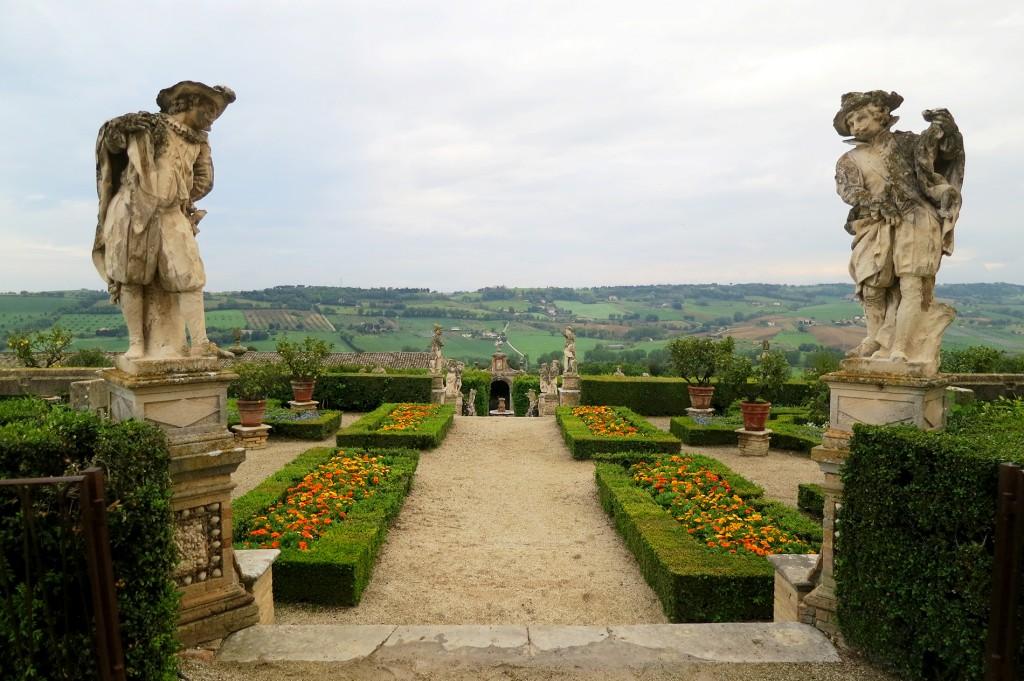 Gardens at Villa Buonaccorsi