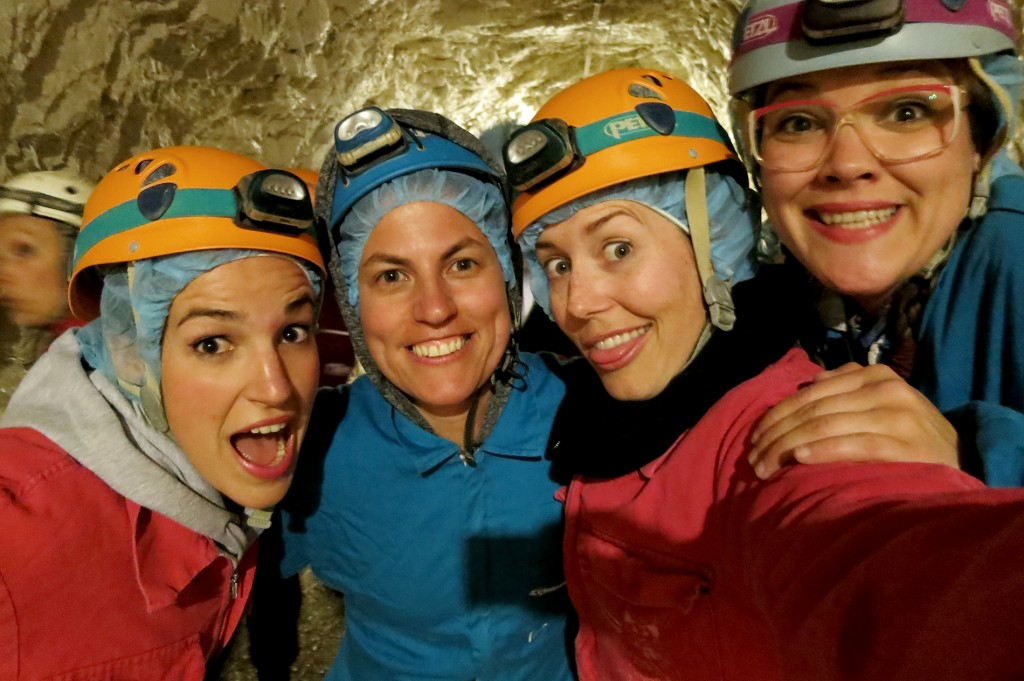 Spelunking in Italy