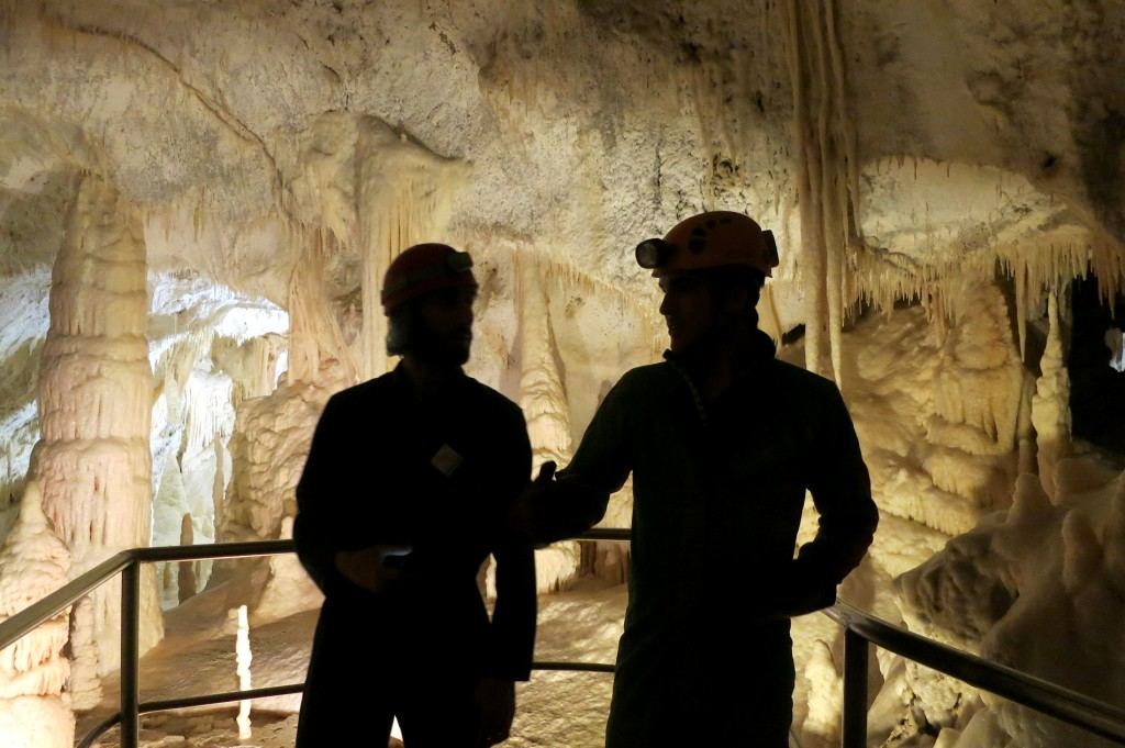 Spelunking in Le Marche, Italy