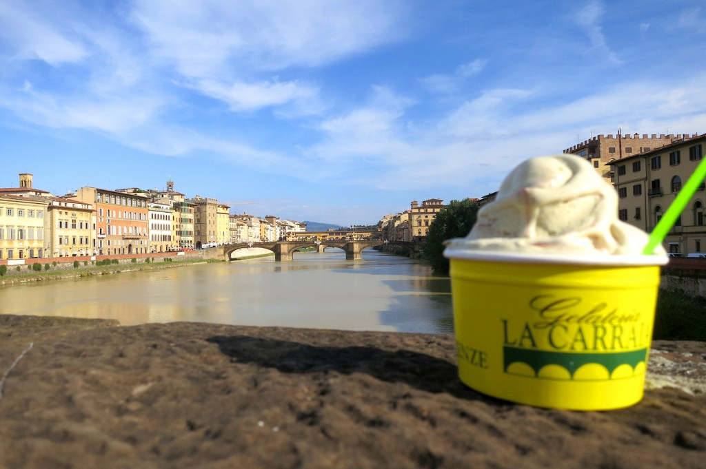 Gelateria La Carraia gelato in Florence