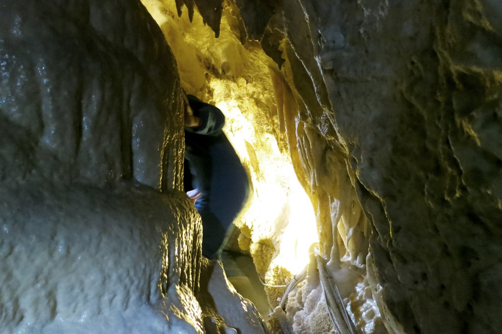 Spelunking in Italy Grotte Frasassi