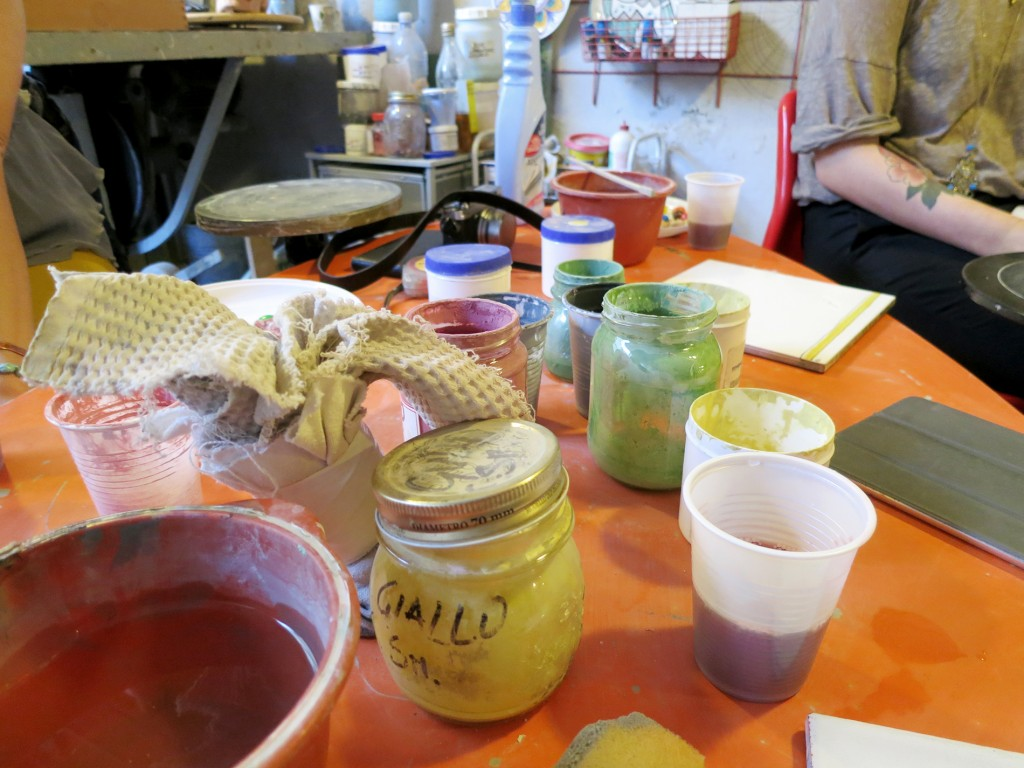 Pottery Painting in Tuscany