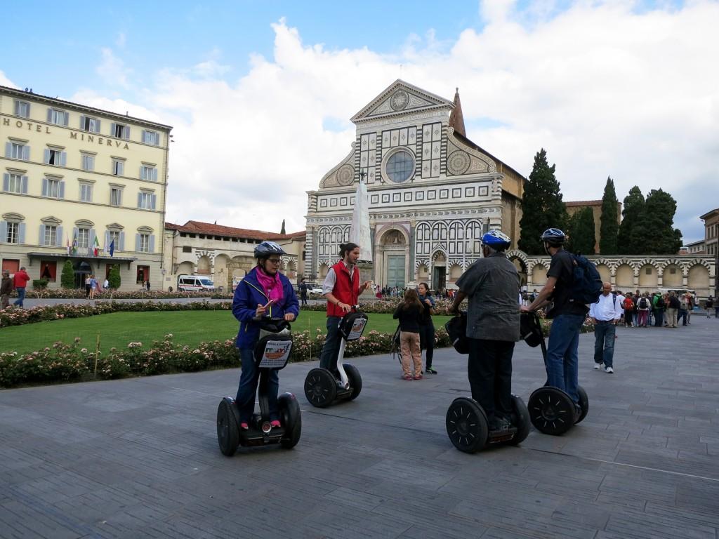 Piazza Santa Maria Novella Segway Tour in Florence