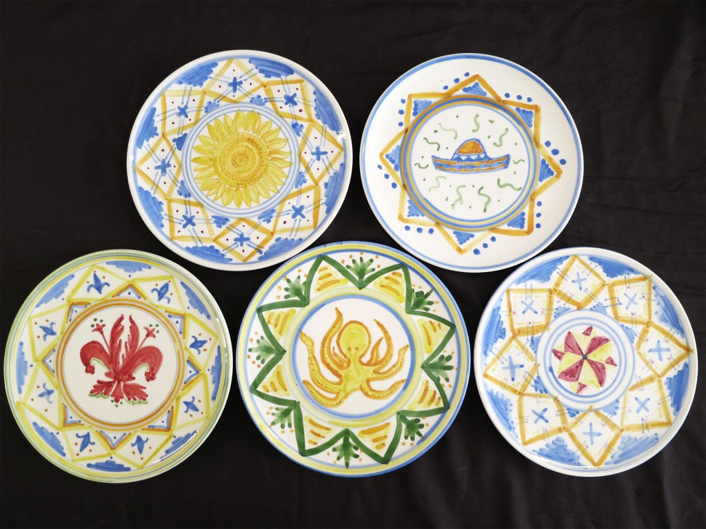 Painting Pottery in Florence