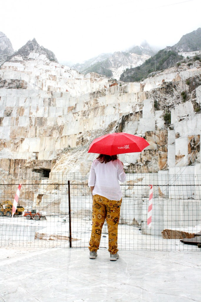 Marble tour in Carrara Tuscany