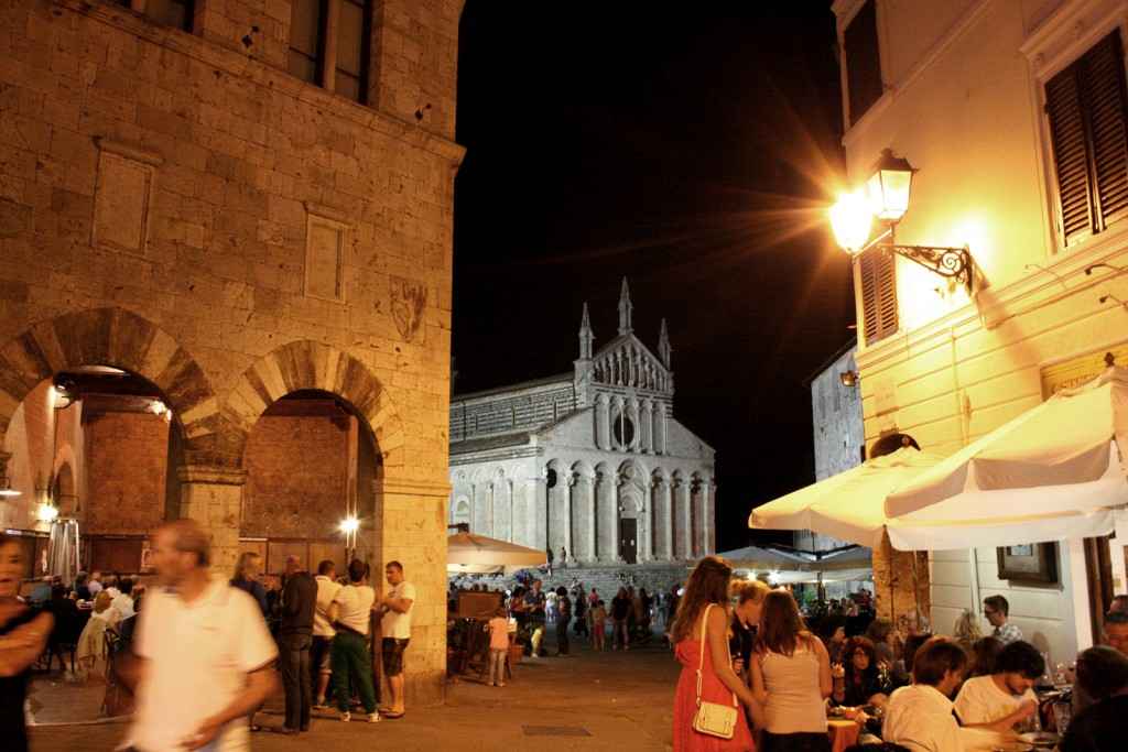 Massa Marittima by night
