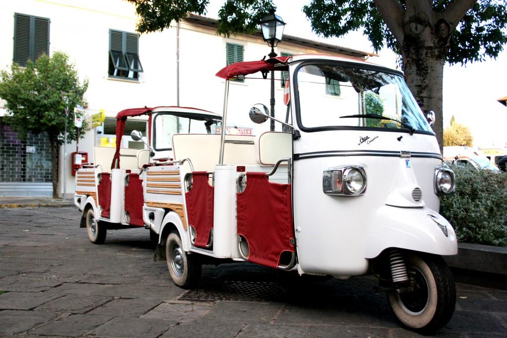 Ape Calessino tour in Tuscany