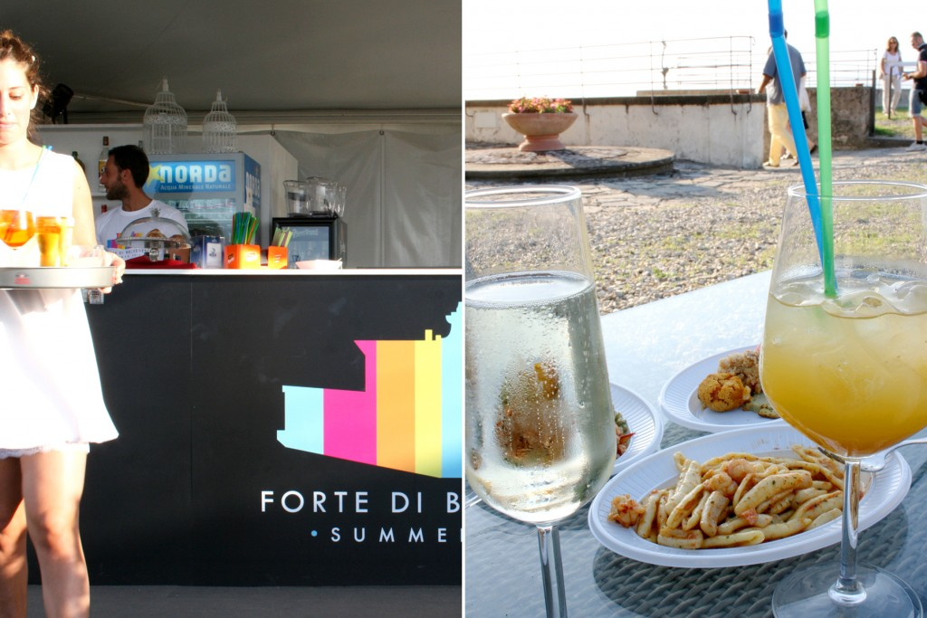 Aperitivo at Forte Belvedere Florence