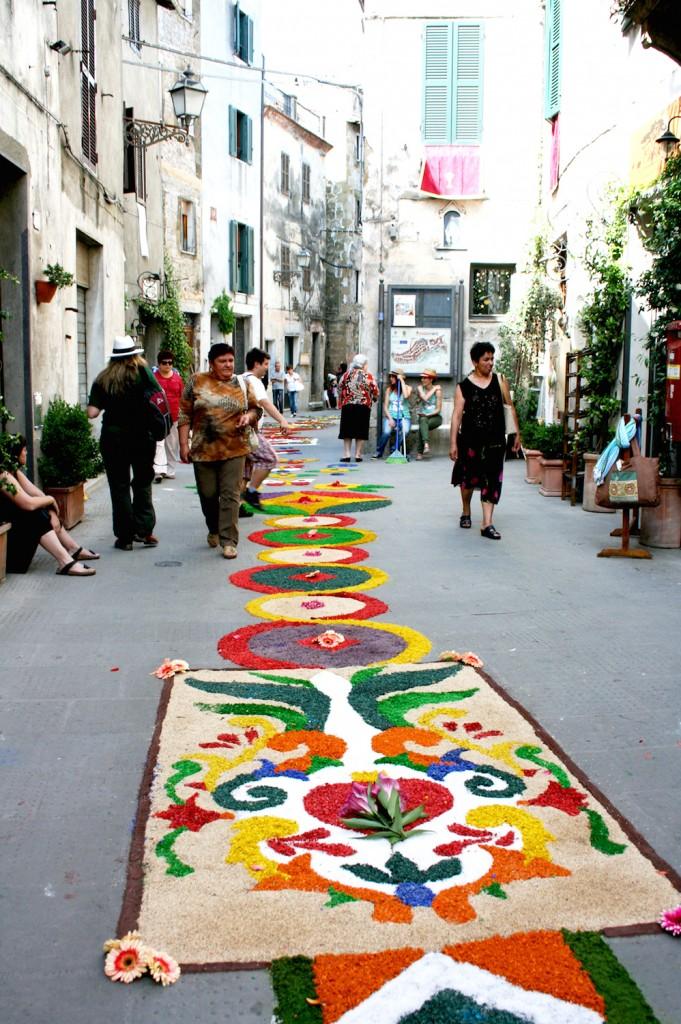 Flower Festival Tuscany, Infiorata Pitigliano